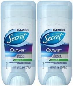 дезодорант Secret Outlast Xtend Unscented Clear Gel 73 грамма