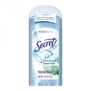 дезодорант Secret pH Balanced Invisible Solid Shower fresh 73 грамма