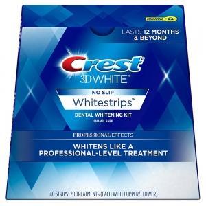 Отбеливающие полоски CREST WHITRNING SYSTEM PROFESSIONAL  EFFECT 40 штук