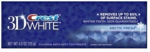 Зубная паста CREST 3D WHITE ARCTIC FRESH 113 г