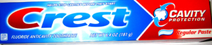 Зубная паста CREST CAVITY PROTECTION REGULAR 181г