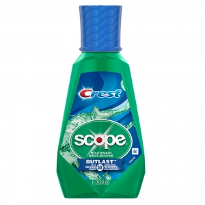 Ополаскиватель Crest Scope Outlast Mouthwash 1 л