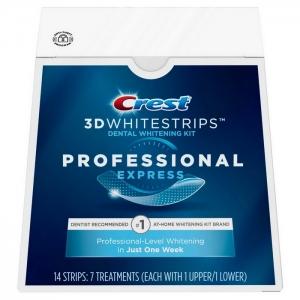Отбеливающие полоски Crest 3D Whitestrips Professional Express
