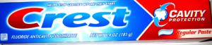 Зубная паста Crest Cavity Protection Regular 232 г