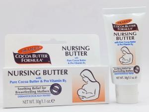 КРЕМ PALMERS NURSING BUTTER, 30 г . Для кормящих грудью, с масло какао и витамином B5